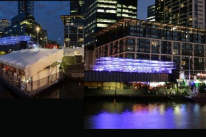 Melbourne Food & Wine Festival 2014 – Cloud Bar on Sandridge Bridge