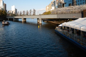 Melbourne Food & Wine Festival 2014 – Venice Barge on Yarra